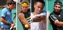 Federer, Del Potro, Soderling si Gonzalez in semifinalele de la Roland Garros