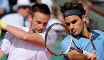 Soderling, fata in fata cu Federer