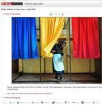 O poza foarte asemanatoare si in Spiegel