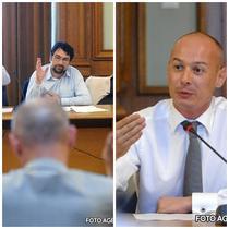 Sever Voinescu si Bogdan Olteanu sau 'apararea' si 'acuzarea'
