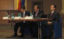 Lucian Croitoru, Sergiu Oprescu, Lucian Anghel, la conferinta BNR