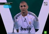 Benzema inscrie primul gol pentru Real Madrid.