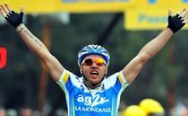 Rinaldo Nocentini, noul tricou galben
