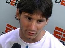 Lionel Messi ii lauda pe spanioli