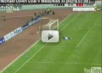 Michael Owen, gol pentru Manchester