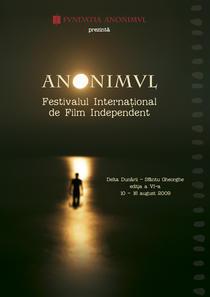 afis Festivalul de Film Independent Anonimul 2009