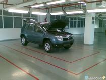 Poza spion cu SUV-ul Dacia