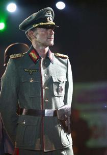 Radu Mazare, in uniforma nazista