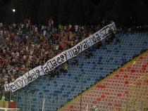 Steaua, doua etape fara spectatori din cauza unui banner
