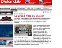 Zvonuri made in France pour Dacia SUV
