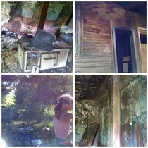 Case incendiate, copiii ascunsi in padure
