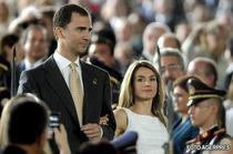 Printesa Letizia si Printul Felipe