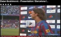 Zlatan, prezentat in fata a 50.000 de spectatori