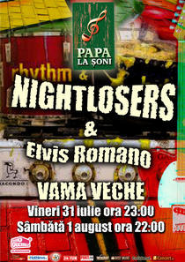 afis Nightlosers si Elvis Romano