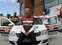 Dacia, sponsorul principal al echipei germane FC St. Pauli