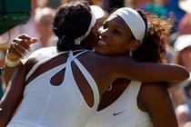 Serena si Venus, invingatoare la dublu