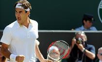 Roger Federer, un tatic fericit
