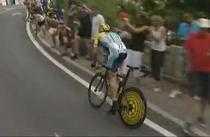 Lance Armstrong, pe trei in clasamentul general