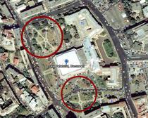 Locurile unde ar urma sa fie amplasate mall-ul si parcarea subterana