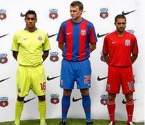 Steaua si noul echipament pentru Liga 1