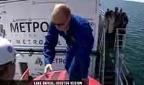 Putin intra in submarin