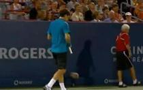 Federer a facut show inca din prima zi la Montreal.