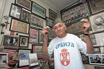 Mile Sarbul, cel mai infocat fan al Stelei Rosii Belgrad