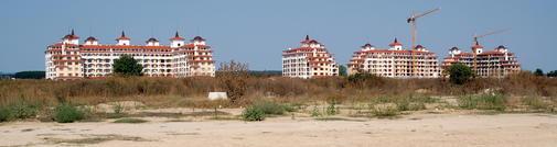 Statiunile din sudul litoralului bulgaresc sunt aproape in totalitate