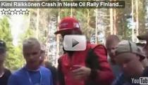 Raikkonen, accident in Raliul Finlandei