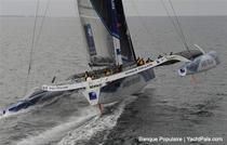 Nou record mondial in traversarea Atlanticului de Nord