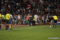 Dinamo si-a reclamat suporterii la politie.