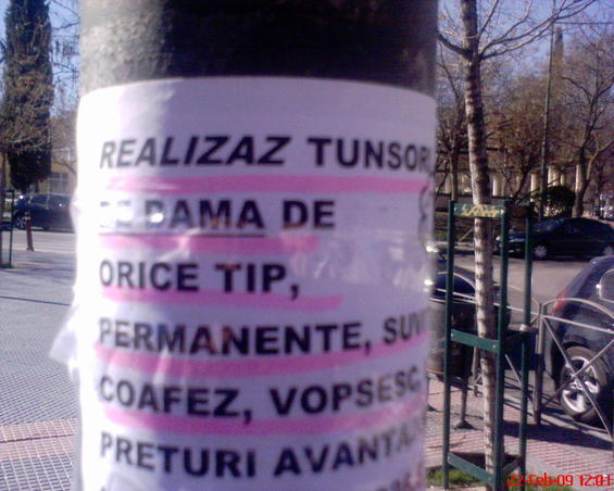 anunt in madrid