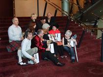 Ofelia Popii, la decernarea Herald Angel Award