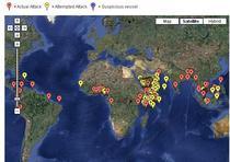 Harta atacurilor din 2009