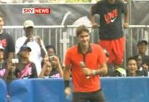 Federer arata extraordinar inainte de US Open.