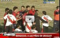 Fotbal si box intr-un meci amical