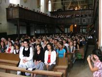 Slujba din biserica