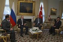 Premierii Putin si Erdogan