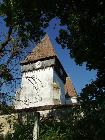 Biserica fortificata din Merghindeal