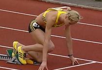Angela Morosanu, invingatoare la 400 metri garduri
