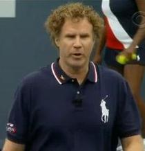 """Will Ferrell, """"perechea la dublu"""" a lui Murray la US Open"""