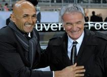 Vechiul si noul antrenor al Romei