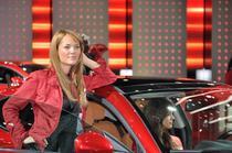 Fotogalerie: Fete si masini la salonul auto de la Frankfurt