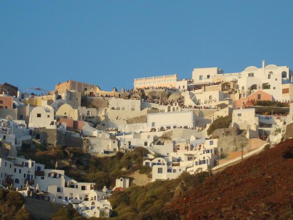 Oia - Santorini - inainte de apus