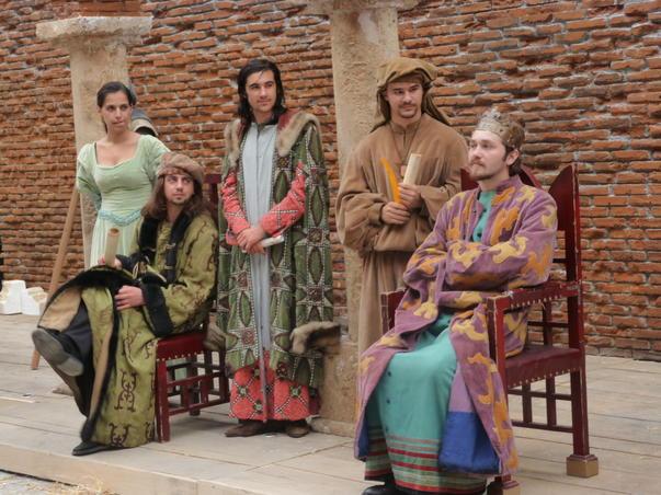 Domnitori - serbarile Bucurestiului - 550 ani