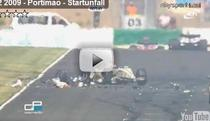 Michael Herck, accident serios in Portugalia