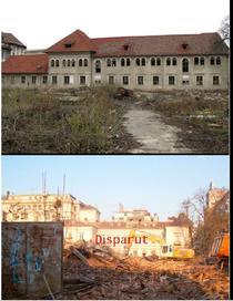 O alta cladire demolata
