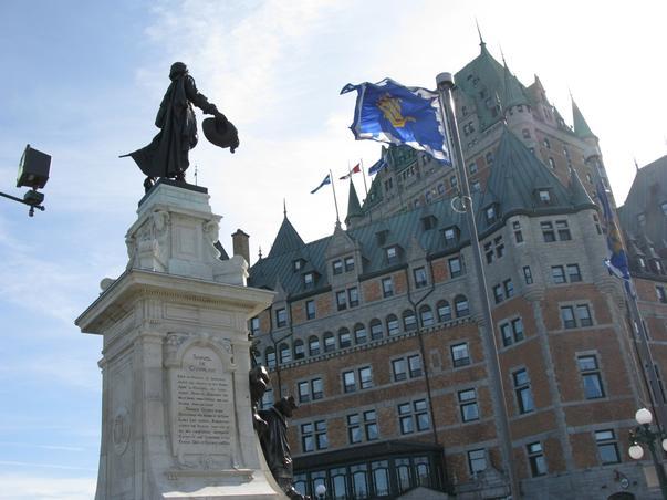 Champlain si castelul Frontenac