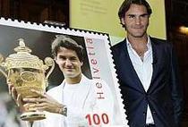 Roger Federer, subiect pentru timbre
