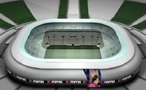 """Franco Sensi"", noul stadion al echipei AS Roma"